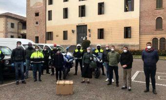 Coronavirus, dalla provincia di Monza 5mila mascherine per agenti e volontari