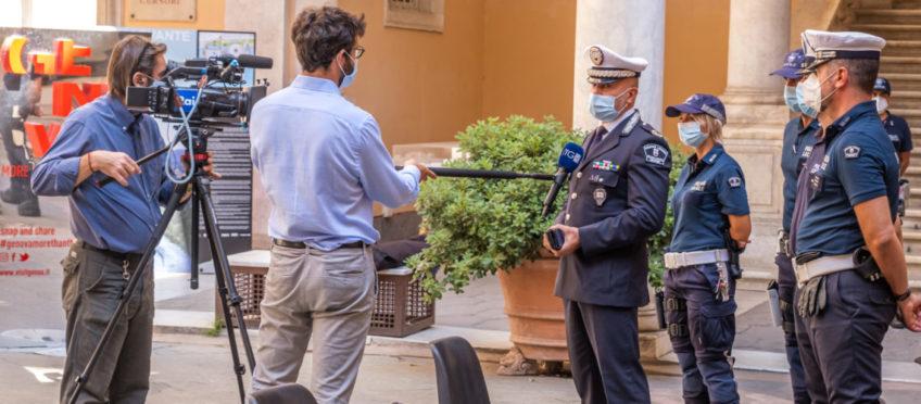 Sicurezza, la Polizia Locale di Genova primo Comando in Italia a valutare l'utilizzo del Bolawrap